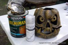 How to seal paper mache...