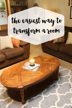 The easiest way to transform a room!