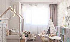 muebles con diseño original en el dormitorio infantil