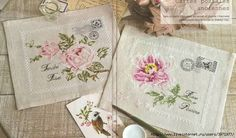 ROSE ENVELOPES cross stitch chart.  Gallery.ru / Фото #01 - Пион - DELERJE 3971977_mvapykp (700x412, 162Kb)