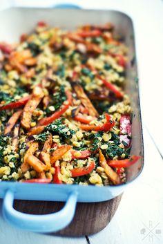 Linsensalat mit gerösteten Süßkartoffeln                                                                                                                                                                                 Mehr