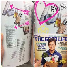 R+F gets FREE PRESS AGAIN!!!  Check out who was featured in the MARCH edition of Dr. Oz The Good Life magazine!!  Beauty editors love our products and they got their hands on the highly anticipated Rodan + Fields Active Hydration Serum  that is not even available yet! The BUZZ is already starting!!  #lifechangingskincare#beautyeditor #hydrationserum #itscoming #health #fitness #makeupandmascaraoptional #hydration #glow #teamlimitless