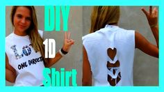 DIY One Direction Concert T-Shirt ❤❤❤❤❤  SUBSCRIBE!!!