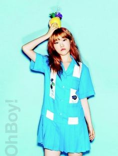 Akdong Musician's Suhyun Poses for Oh Boy! Magazine | Koogle TV