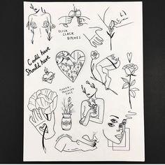 Trippy Drawings, Tumblr Drawings, Tattoo Sketches, Tattoo Drawings, Unique Tattoos, Small Tattoos, Tatoo Simple, Tattoo Memes, Stick Poke Tattoo