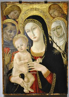Madonna Child, 1480 by Mr. History, via Flickr