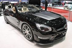 Brabus 800 Roadster. When Brabus puts their hands on a Mercedes, it transforms into something else. This is real nice!
