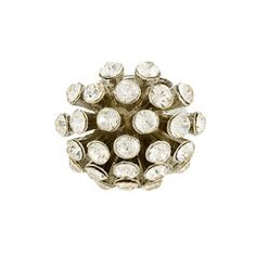 Sunburst Cluster Ring - Silver