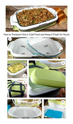 How to Transport Hot or Cold Food and Keep It Fresh for Hours PLUS a Fit & Fresh Gatherings GIVE AWAY!