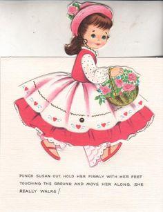 SUSAN Valentine City Paper Doll Greeting Card - MaryAnn - Picasa Web Albums
