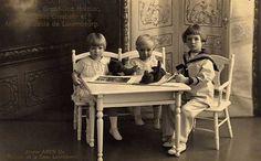 Children of Grand Duchess Charlotte