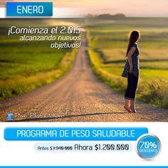 La #DraPilarOchoa quiere que este nuevo año tengas un aspecto fantástico, por eso te da un 70% en su programa de #PesoSaludable, antes $3.940.000 ahora 1.200.000