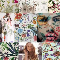 BOTANICAL PRINTS FASHION