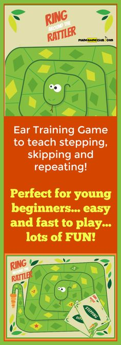 Ear training made fun! Your piano students will love this game and will learn… Music Activities, Teaching Activities, Teaching Ideas, Beginner Piano Lessons, Music Lessons, Piano Games, Kindergarten Music, Leveled Books, Best Piano