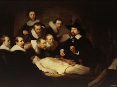 History of Art: Baroque and Rococo - Rembrandt van Rijn Caravaggio, Rembrandt Paintings, Rembrandt Art, Art Occidental, Baroque Art, Baroque Painting, Painting Art, Dutch Golden Age, Famous Artwork