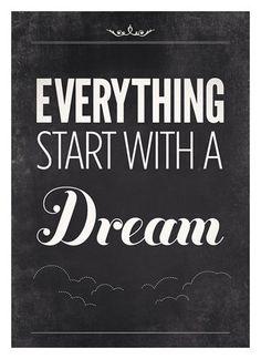 #dream #quote #inspiration PhiloSophie's did!  www.shopsophies.com