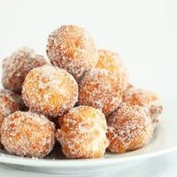Donuts made from scratch in 15 minutes ~ So easy and delicious, this recipe is a definite keeper! link to recipe on page