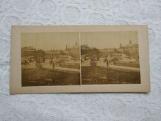 1800s Photography, Clifton Houses, Grand Hotel, Old Antiques, Scenery, Horses, Frame, Photos, Ebay