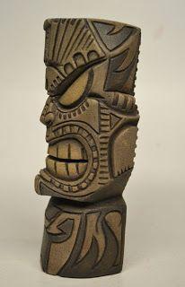 GoD TiKiCarving #6 By Nemo Sculptures Céramiques, Wood Sculpture, Tiki Man, Tiki Tiki, Tiki Pole, Tiki Hawaii, Tiki Faces, Tiki Statues, Tiki Lounge