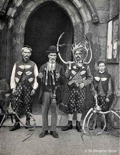 English eccentrics ca. 1900