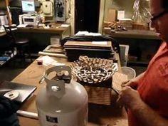 "www.EasyFirePits.com 12"" Propane Fire Pit Kit - Make ANYTHING a Fire Pit!! www..."