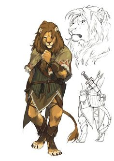 lion2 by koutanagamori.deviantart.com on @deviantART: