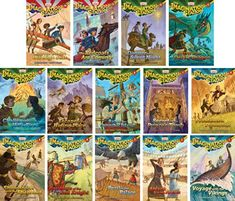 Imagination Station Series - Adventures in Odyssey - Set of 14 - Volumes #1-14 #amazon Around $70 for set including shipping
