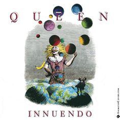 Queen - Innuendo animated cover artwork by www.animatedcovers.com