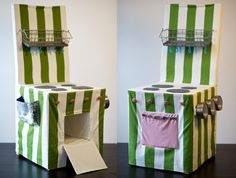 Chair covers- kitchen stove