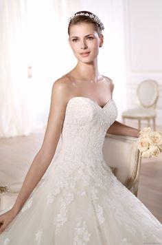 Pronovias basma wedding dress