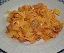 Ricetta Fettuccine al sugo di tonno e peperoni pubblicata da alebama - Questa ricetta è nella categoria Primi piatti