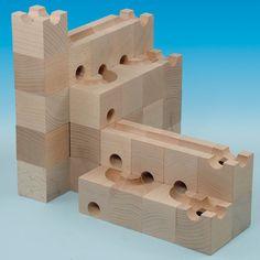 best wooden marble run - Cuboro