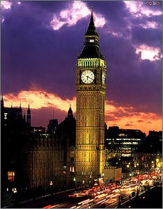 Big Ben---my husband and I got lost on a round-about in London and thought about that movie