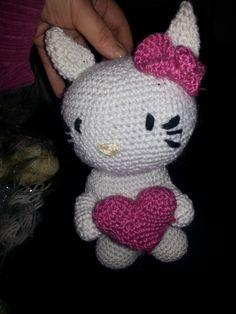 gehäkelte Hello Kitty