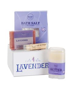 Give the joy of Lavender this season! Lavender will nourish, cleanse, and moisturize your loved one into a state of perfect bliss. Best of all, you will only find the best ingredients mother nature offers inside this lovely gift set.