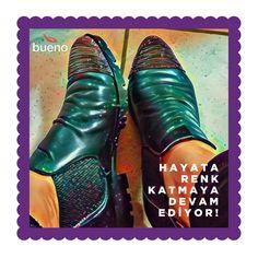 Bueno Shoes tasarımları, hayata renk katmaya devam ediyor... 🌈 ☀ 😍