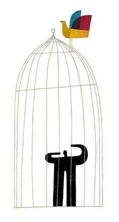 Press illustration 1 by martin leon barreto, via Behance