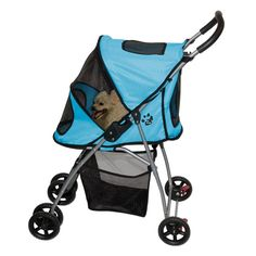 Pet Gear Ultra-Lite Pet Stroller for cats and dogs up to 20-pounds, Ice Blue -- Trust me, this is great! Click the image. (This is an amazon affiliate link. I may earn commission from it)