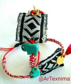 March bracelet by ArTexnima Diy Jewelry, Jewlery, Friendship Bracelets, Knots, March, Crafting, Christmas Ornaments, Earrings, Bracelets