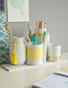 Back to School for Adults: 10 DIY Office Refresh Ideas