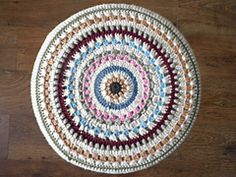 Crochet Mandala - by Kath Webber  - FREE PATTERN
