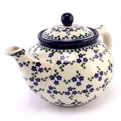 Dreamy teapot! #PolishPottery from http://slavicapottery.com