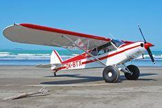 Piper Super Cub takes a vacation.