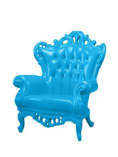 Blue King Chair by POLaRT on Gilt Home