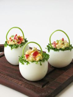 Darter egg baskets