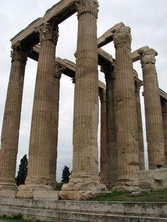 Temple of Zeus Athens Greece  #Iridaresort  www.iridaresort.gr