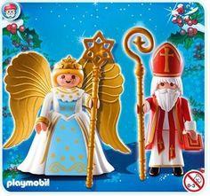 Playmobil 4887 - Blister San Nicol�s y �ngel de la Navidad - Comprar
