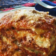Types Of Food, Pasta Dishes, Lasagna, Spaghetti, Cooking, Ethnic Recipes, Greek Beauty, Freezer, Casseroles