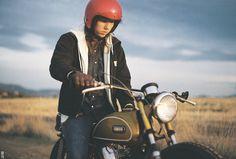 vintage motorcycle repair   Tumblr Yamaha, Riding Helmets, Motorcycle, Bike, Vintage, Motorbikes, Bicycle, Motorcycles, Bicycles