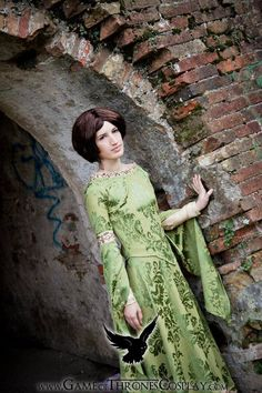 Arya Stark at Acorn Hall by LiviaPoe.deviantart.com on @deviantART